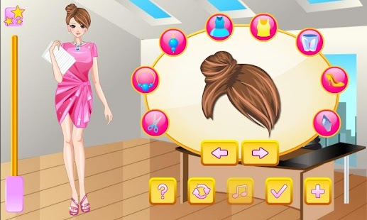 Secretary Girl Dress Up - screenshot thumbnail