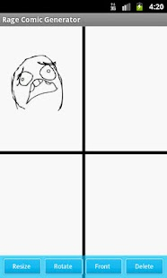 Rage Comic Generator - screenshot thumbnail