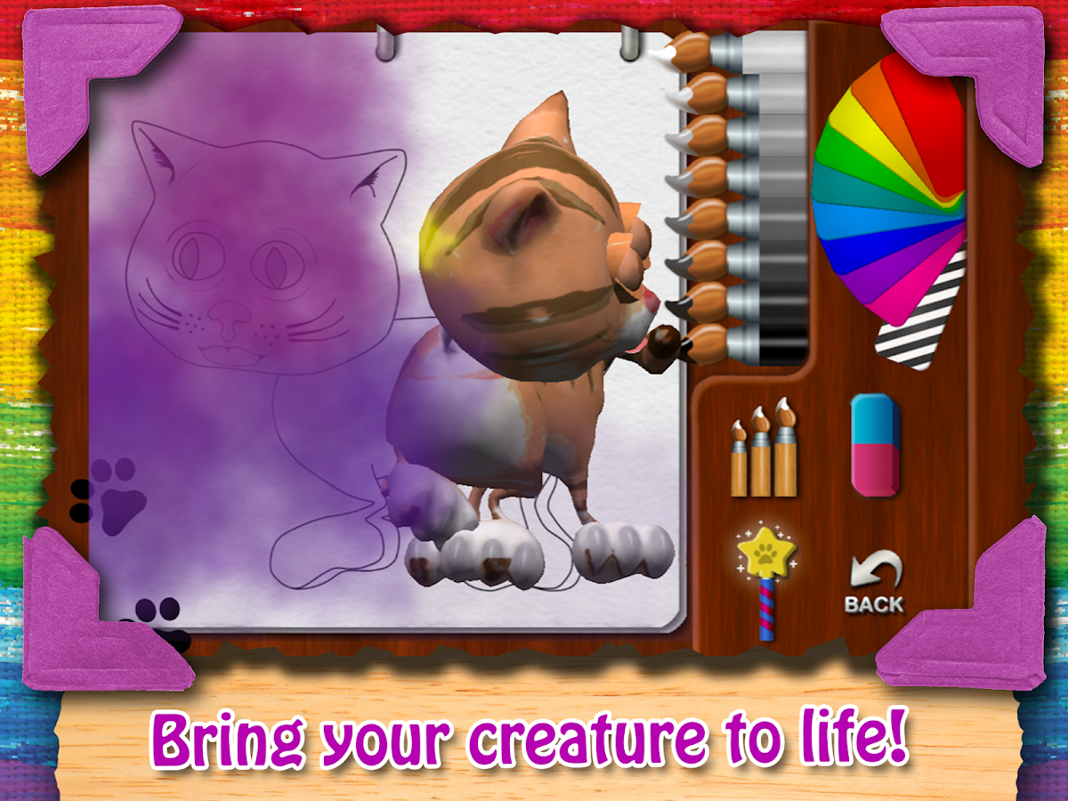 Paint My Cat Premium- screenshot