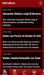 Oldtrafford News - screenshot thumbnail