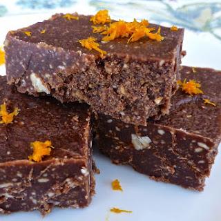 Paleo Dark Chocolate Orange Fudge (Paleo, Dessert) Recipe