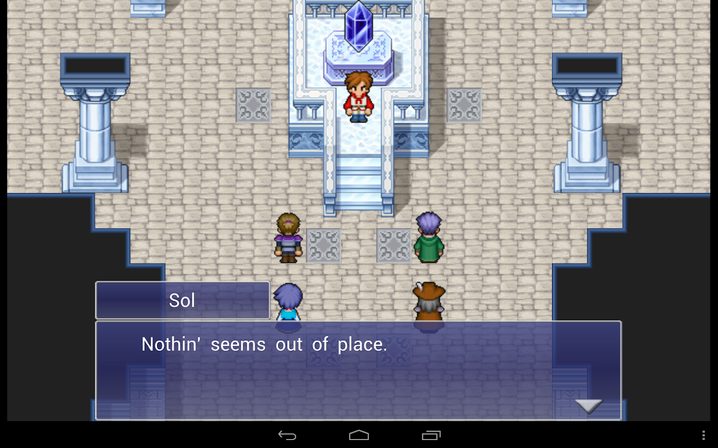 FINAL FANTASY DIMENSIONS - screenshot