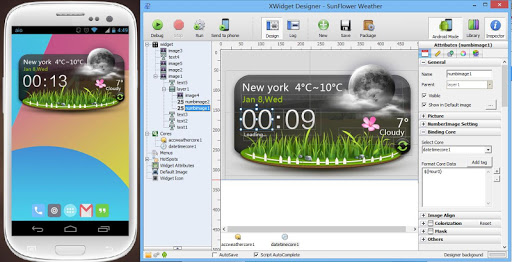 XWIDGET Free for Android v1.7