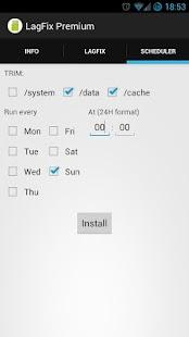 LagFix (fstrim) Premium - screenshot thumbnail