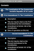 Screenshot of eConstitution