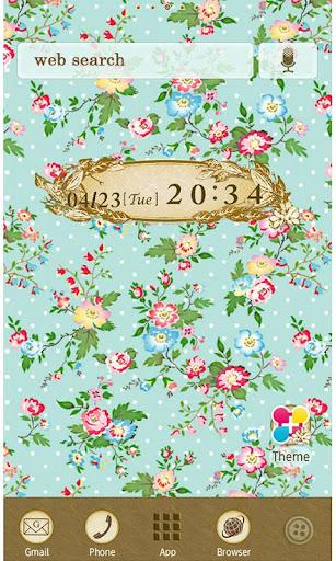 Wallpaper Theme Petit Floral 1.6 Windows u7528 1