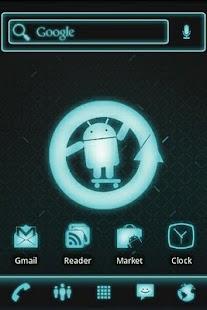 ADW Theme Cyanogen Mod Pro - screenshot thumbnail