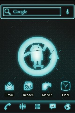 ADW Theme Cyanogen Mod Pro - screenshot
