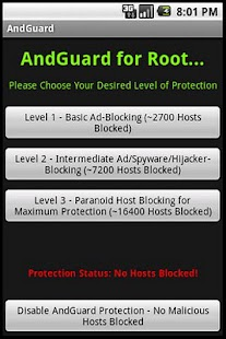 AndGuard Pro (w/ Iptables)- screenshot thumbnail