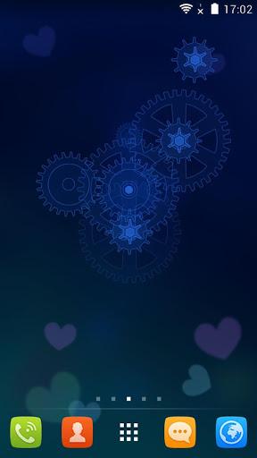 玩個人化App|水晶时钟动态锁屏壁纸免費|APP試玩