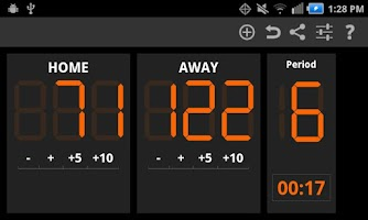 Screenshot of Keep Score - Scoreboard