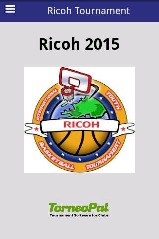 Ricoh Tournament