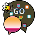 GO SMS THEME/retrosquares icon