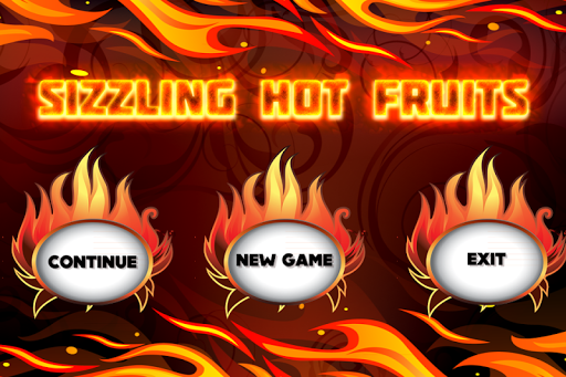 sizzling hot fruits