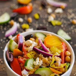 Greek Quinoa Salad.