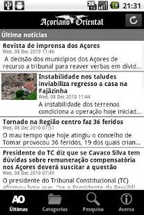 Açoriano Oriental- screenshot thumbnail
