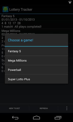 【免費娛樂App】Lottery Tracker-APP點子