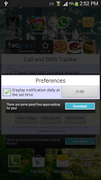 Screenshot of Call & Message Tracker -Remote