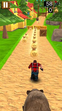 Danger Runner 3D Bear Dash Run 1.5 screenshot 1646799