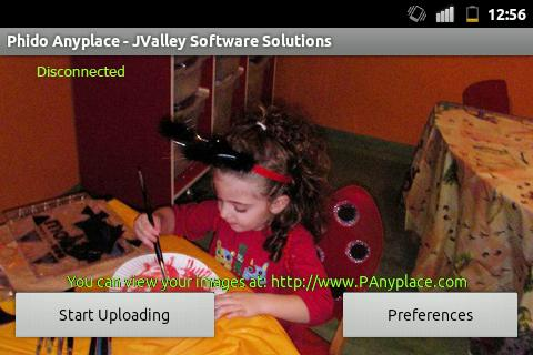 Phido Anyplace - IP Camera - screenshot