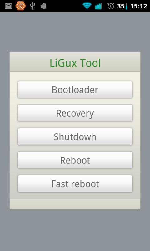 LiGux Tools- screenshot