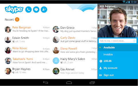 Skype - free IM & video calls v5.4.0.3239