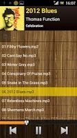 Screenshot of Fresh Music Folder Player
