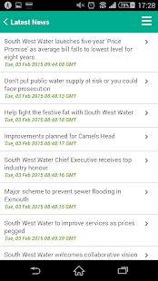 South West Water for Android- screenshot thumbnail