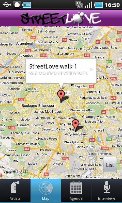 StreetLove- screenshot
