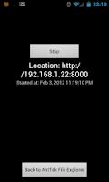 Screenshot of AntTek Wifi Sharer
