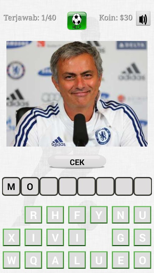 Football Quiz 2014 - screenshot