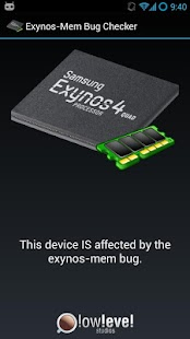 Exynos Mem Bug Checker - screenshot thumbnail