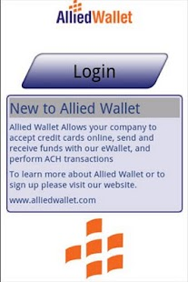 Allied Wallet: Mobile Wallet - screenshot thumbnail