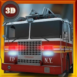 Rescue Fire Truck Simulator for PC and MAC