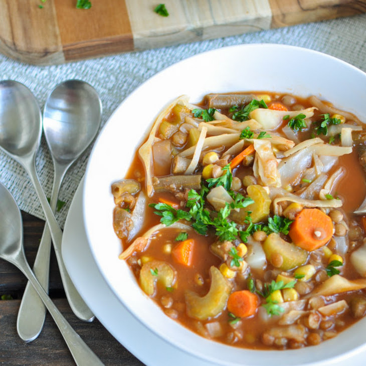 Vegetable Lentil Soup Recipe