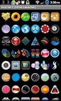 Screenshot of Icon Set C ADW/Circle Launcher