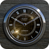 LONDON Designer Clock Widget