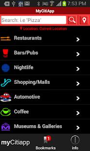 myCitiApp - screenshot thumbnail