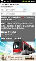 Screenshot of SGTrains - Singapore Apps