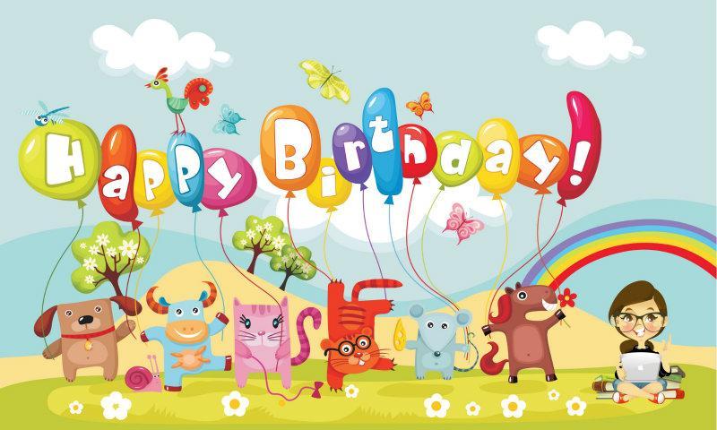 Beautiful Birthday Cards Android App Screenshot