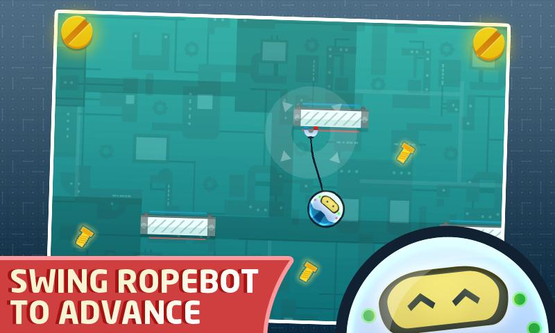 RopeBot Lite - Bot Game - screenshot
