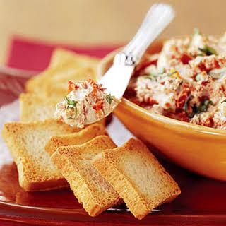 Tomato and Basil Chèvre Spread.