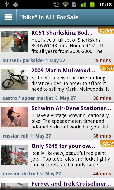 CityShop - for Craigslist - screenshot