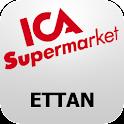 ICA Supermarket Ettan logo