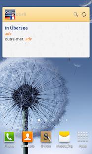 German<>French Dictionary TR - screenshot thumbnail