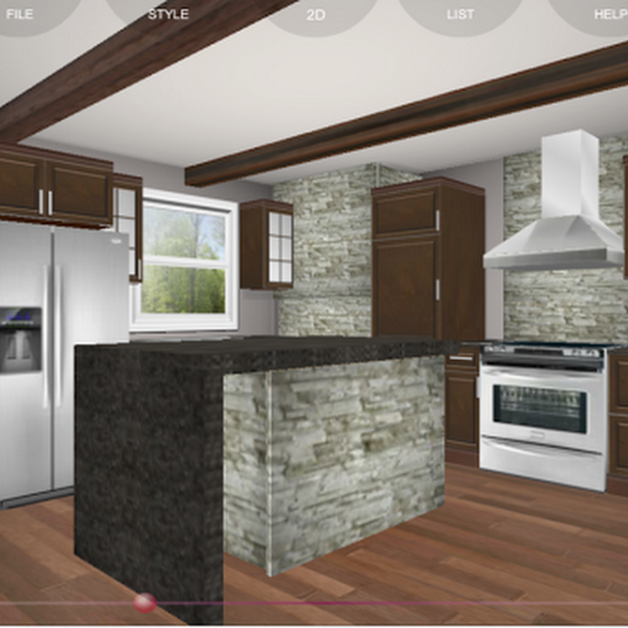 Full Kitchen Planing Drowing Interior Home Page