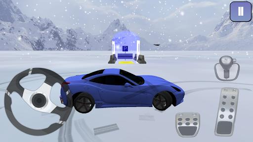 新雪停車場3D