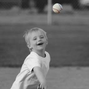 Throwing by Stacey Fields - Babies & Children Children Candids
