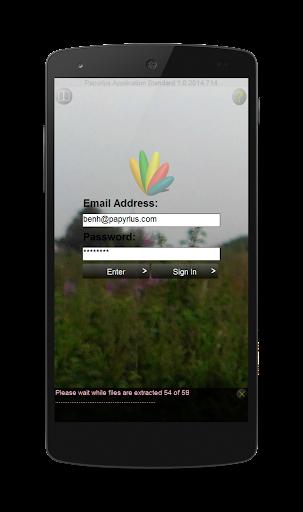 Papyrlus Mobile Application