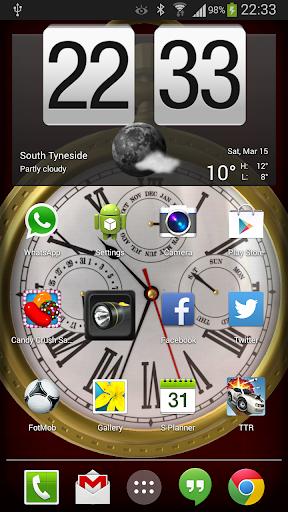 3D Pocket Watch Live Wallpaper
